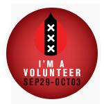 I'm a volunteer!